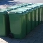 Clusterplaatsen voor containers in Nieuw Wolfslaar